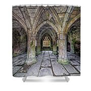 Chapter House Interior Shower Curtain