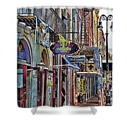 Characteristics Of New Orleans  V2 Shower Curtain