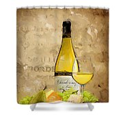 Chardonnay Iv Shower Curtain