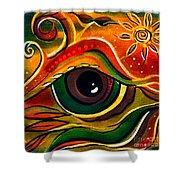 Charismatic Spirit Eye Shower Curtain