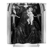 Charity, 15th Century Shower Curtain