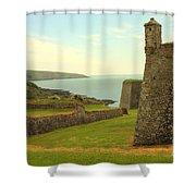 Charles Fort Kinsale Shower Curtain