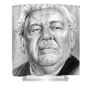 Charles Laughton Shower Curtain