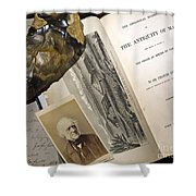 Charles Lyells Antiquity Of Man 1863 Shower Curtain by Paul D Stewart