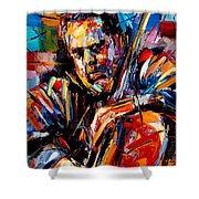 Charles Mingus Shower Curtain