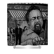 Jazz Charles Mingus Jr Shower Curtain
