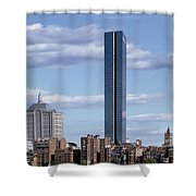 Charles River In Boston Shower Curtain