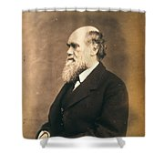 Charles Robert Darwin (1809-1882) Shower Curtain