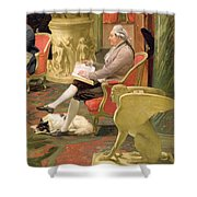 Charles Townley And His Friends Shower Curtain