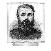 Charles Zagonyi (1826-?) Shower Curtain