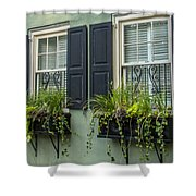 Charleston 13 Shower Curtain