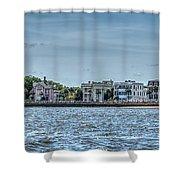 Charleston Banner Shower Curtain