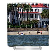 Charleston Beach Shower Curtain