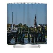 Charleston Charm Shower Curtain