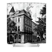 Charleston Corner Charleston Sc Shower Curtain by William Dey