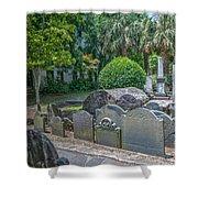 Charleston Graveyard Shower Curtain