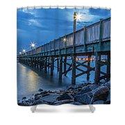 Charleston Harbor 3 Shower Curtain