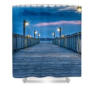 Charleston Harbor Shower Curtain