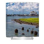 Charleston Harbor Shower Curtain