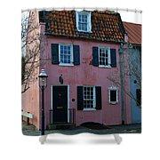 Charleston Historic District Shower Curtain