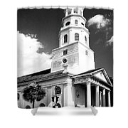 Charleston Layers Charleston Sc Shower Curtain