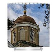 Charleston Round Dome Shower Curtain