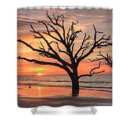 Charleston South Carolina Edisto Island Beach Sunrise Shower Curtain