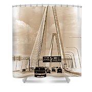 Charleston's Arthur Ravenel Jr. Bridge Shower Curtain