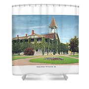 Charlevoix Michigan - The Chicago Club - 1908 Shower Curtain