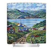 Charlevoix Scene Shower Curtain