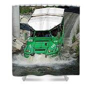 Charlie River Splash Down Shower Curtain