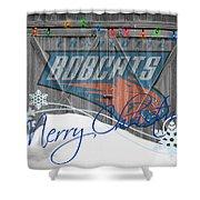 Charlotte Bobcats Shower Curtain