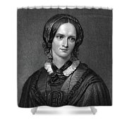 Charlotte Bront� (1816-1855) Shower Curtain