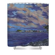 Charlotte Harbor Sunset Shower Curtain