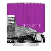 Charlotte Nascar Hall Of Fame - Plum North Carolina Shower Curtain