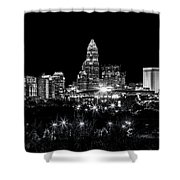 Charlotte Night Shower Curtain