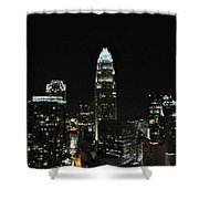 Charlotte Night Cnp Shower Curtain by Jim Brage