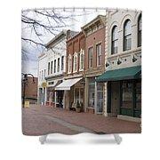 Charlottesville Virginia Downtown Mall Shower Curtain
