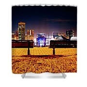 Charm City View Shower Curtain