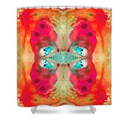Charmed - Abstract Art By Sharon Cummings Shower Curtain