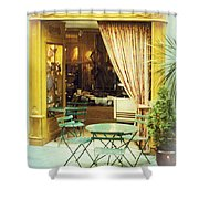 Charming Street Still Life Shower Curtain