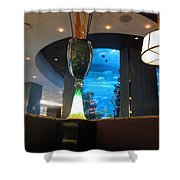Chart House Restaurant Las Vegas Shower Curtain