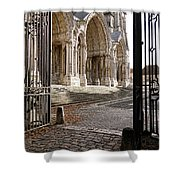 Chartres Cathedral North Transept Shower Curtain