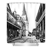 Chartres St In The French Quarter 3 Shower Curtain