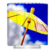 Chase The Clouds Away Shower Curtain