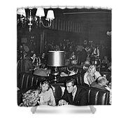 Chasen's Hollywood Restaurant Shower Curtain by Underwood Archives