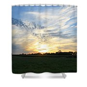 Chasing Sunsets Shower Curtain