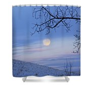 Chasing The Day Away Shower Curtain