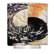 Chasing The Dragon's Tail Shower Curtain