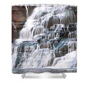 Chasing Waterfalls Shower Curtain